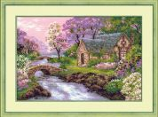 RIOLIS Counted Cross Stitch Kit The Spring View