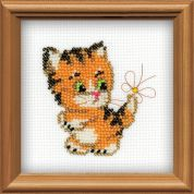 RIOLIS Counted Cross Stitch Kit Beaded Ginger