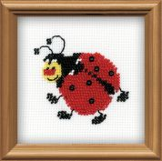RIOLIS Counted Cross Stitch Kit Ladybird