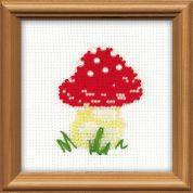 RIOLIS Counted Cross Stitch Kit Fly Agaric