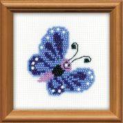 RIOLIS Counted Cross Stitch Kit Butterfly