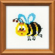 RIOLIS Counted Cross Stitch Kit Bee