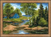 RIOLIS Counted Cross Stitch Kit Summer House