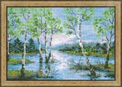 RIOLIS Counted Cross Stitch Kit Spring Floods