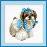 RIOLIS Counted Cross Stitch Kit Shih Tzu