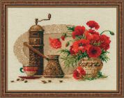 RIOLIS Counted Cross Stitch Kit Coffee