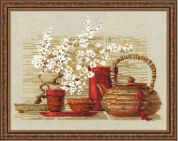 RIOLIS Counted Cross Stitch Kit Tea