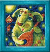 Riolis Counted Cross Stitch Kit Milky Song