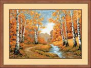Riolis Counted Cross Stitch Kit The Golden Grove