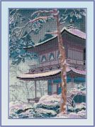 RIOLIS Counted Cross Stitch Kit The Pagoda