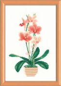 RIOLIS Counted Cross Stitch Kit Yellow Orchid