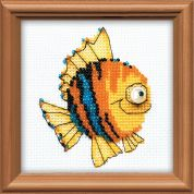 RIOLIS Counted Cross Stitch Kit Little Fish