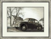 Riolis Counted Cross Stitch Kit The Beetle