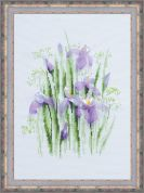 Riolis Counted Cross Stitch Kit Spring Irises
