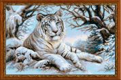 RIOLIS Counted Cross Stitch Kit Bengal Tiger