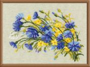 RIOLIS Counted Cross Stitch Kit Cornflowers & Buttercups
