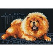RIOLIS Counted Cross Stitch Kit Chow Dog