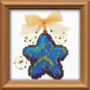 RIOLIS Counted Cross Stitch Kit Beaded Magic Star Bead Kit