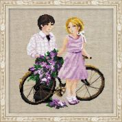 RIOLIS Counted Cross Stitch Kit Spring Walk