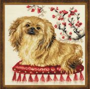 Riolis Counted Cross Stitch Kit Pekinese