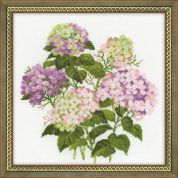 RIOLIS Counted Cross Stitch Kit Garden Hydrangea