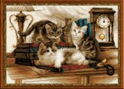 Riolis Counted Cross Stitch Kit Furry Friends