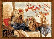 RIOLIS Counted Cross Stitch Kit Pets