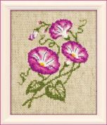RIOLIS Counted Cross Stitch Kit Morning Glory