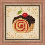 RIOLIS Counted Cross Stitch Kit Cake Rolls