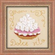 RIOLIS Counted Cross Stitch Kit Cake Basket
