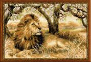 RIOLIS Counted Cross Stitch Kit King of Beasts