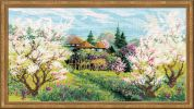 RIOLIS Counted Cross Stitch Kit Apple Orchard