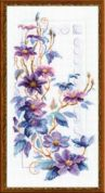 Riolis Counted Cross Stitch Kit Clematis