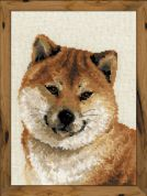 Riolis Counted Cross Stitch Kit Japanese Husky