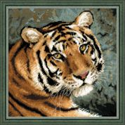 RIOLIS Counted Cross Stitch Kit Siberian Tiger