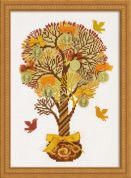 RIOLIS Counted Cross Stitch Kit Tree of Money