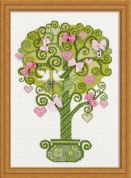 RIOLIS Counted Cross Stitch Kit Tree of Happiness