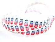 Berisfords Party Russian Dolls Print Ribbon