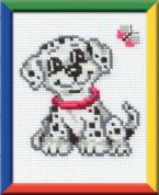 RIOLIS Counted Cross Stitch Kit Dalmatian Dog