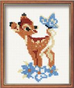 RIOLIS Counted Cross Stitch Kit Bambi