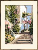 RIOLIS Counted Cross Stitch Kit The Italian courtyard