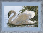 RIOLIS Counted Cross Stitch Kit Female Swan