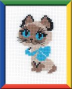 RIOLIS Counted Cross Stitch Kit Kitten