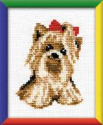 RIOLIS Counted Cross Stitch Kit Yorkie