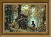 RIOLIS Counted Cross Stitch Kit Morning in a Pine Forest