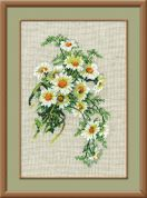 RIOLIS Counted Cross Stitch Kit Bouquet of Camomiles