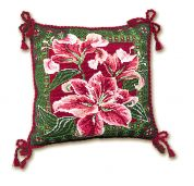 Riolis Counted Cross Stitch Kit Lilies Cushion