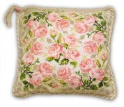 Riolis Counted Cross Stitch Kit Roses Cushion