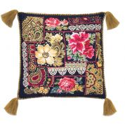 RIOLIS Counted Cross Stitch Kit Flower Arrangement Cushion