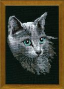 RIOLIS Counted Cross Stitch Kit Russian Blue